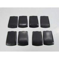 LOT OF 8 BLACKBERRY BATTERY DOOR BACK COVERS
