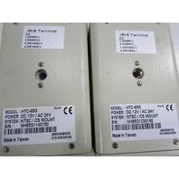 CCD CAMERA IRIS TERMINAL HTC-65B