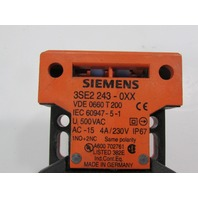 SIEMENS 3SE2-243-0XX INTERLOCK SW,TOP AND SIDE ENTRY #3