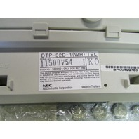 LOT OF 59 NEC DTP-8D-1 (WH), DTP-16D-1 (WH) PHONES, DCU-60-1, DTP-32D-1