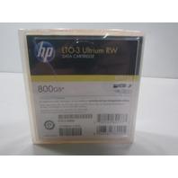 NEW PACK OF FIVE HP LTO-3 ULTRIUM RW 800GB DATA CARTRIDGE