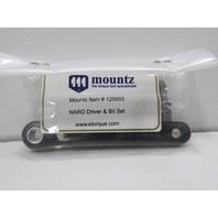NEW MOUNTZ NARO RATCHET DRIVER AND BIT SET P/N125003