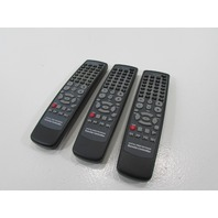LOT OF 3 DIGITAL VIDEO RECORDER REMOTE CONTROLLER