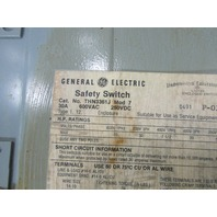 * GE THN3361J SAFETY SWITCH 30AMP 3POLE 600VAC NON-FUSE NEMA-12
