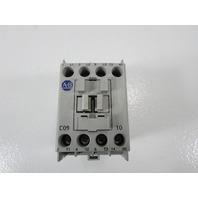 ALLEN BRADLEY 100-C09*10 CONTRACTOR 25 AMP 600VAC