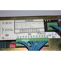 * SIEMENS 6AV1-132-0DA10 OP1 - 240/5 OPERATOR PANEL