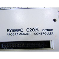 OMRON SYSMAC C20K CDR-A PROGRAMMABLE CONTROLLER