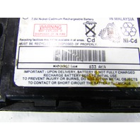 MOTOROLA HMN9635A 7.5 NICKEL CADMIUM RECHARGEABLE BATTERY