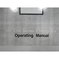 HP 3396 SERIES II INTEGRATOR OPERATING MANUAL