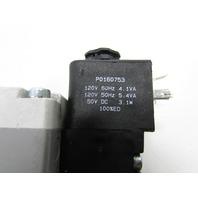 PARKER H22WXBBL53D PNEUMATIC SOLENOID VALUE
