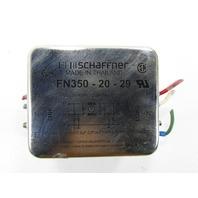 SCHAFFNER FN 3502029 POWER LINE FILTER