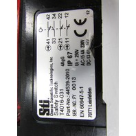 STI OMRON SCIENTIFIC TECHNOLOGIES T4016-031 SAFTEY SWITCH