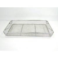 * AESCULAP STERILIZATION STERIL BASKET 21 x 10 x 2""