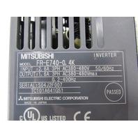 MITSUBISHI FR-E740-0.4K INVERTER