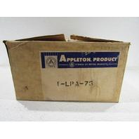 """`` NEW APPLETON MERCMASTER II LPA-75 PENDANT HOOD 3/4"""""""