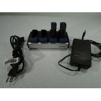 INTERMEC AC1 BATTERY CHARGER WITH 2 BATTERIES