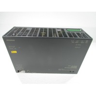 SIEMENS 6EP1-437-2BA10 POWER SUPPLY 40AMP 3PH 24VDC 400-500VAC 50/60HZ
