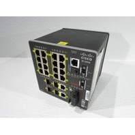 CISCO IE2000 IE-2000 16TC ETHERNET SWITCH 20 PORT