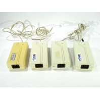 * LOT OF (4) UMEC UP0301A-05P AC POWER ADAPTER 5VDC 6A