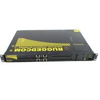 * RUGGEDCOM RX1000-F-RM-48-48-XX-XX-TX01-TX01-XXX-XXX INDUSTRIAL STRENGTH NETWORKS ROUTER