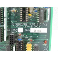 BINDICATOR SON-210002 ULMS I/O PCB
