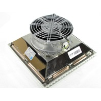 * RITTAL SK 3325607 EMC FILTER FAN 156CFM 230V 50/60HZ RAL7035 TYPE 12