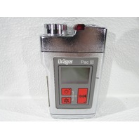 DRAGER PAC III GAS DETECTOR MONITOR 4530010