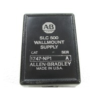 ALLEN BRADLEY 1747-NP1 POWER SUPPLY WALL MOUNTABLE .25AMP 120VAC 7W