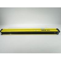 SICK OPTIC MSLS02-15021 ELECTRONIC LIGHT CURTAIN 23MM 24VDC TYPE4