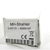 NEW HERAEUS MH-STRAHLER Q 407 Q407 21-45000147 QUARTZ LAMP TUBE