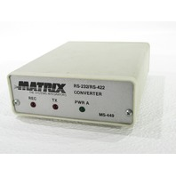 MATRIX RS-232/RS422 CONVERTER