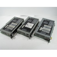 LOT OF 3 ALLEN BRADLEY 1785-L30B PROCESSOR MODULE 32K WORD SRAM PLC 5 30