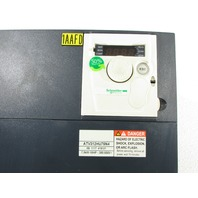 * TELEMECANIQUE SCHNEIDER ELECTRIC ATV312HU75N4 DRIVE 10HP 7.5KW 380-500V 3PHASE