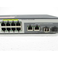 HEWLETT PACKARD J9137A PROCURVE 2520-8 POE COMPUTER NETWORK SWITCH