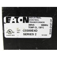 EATON  CUTLER HAMMER C0300E4D 300 VA TYPE MTE CONTROL TRANSFORMER