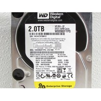 "* LOT OF (5) WESTERN DIGITAL ENTERPRISE 2TB 3.5"" SATA 64MB WD RE4-GP HDD WD2002FYPS WD2003FYPS"