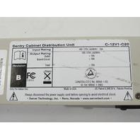 SENTRY C-12V1-C20 CABINET DISTRIBUTION UNIT