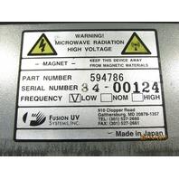 FUSION UV 594786 MAGNETRON