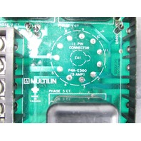 GENERAL ELECTRIC  MULTILIN P4A-E500 PIN CONNECTOR