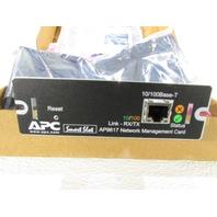 APC AP9617 NETWORK MANAGEMENT CARD 10/100 ETHERNET SMART SLOT