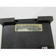 TR SYSTEMTECHNIK M-1610-0000  CONTROL ASSEMBLY