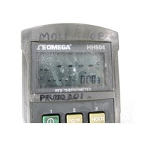 OMEGA ENGINEERING HH504 THERMOMETER DIGITAL HANDHELD