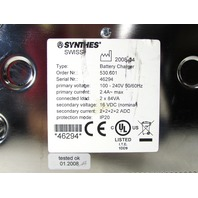 * SYNTHES 530.601 UNIVERSAL BATTERY CHARGER *WARRANTY*