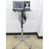 * STRYKER TPS 5100-50 IRRIGATION CONSOLE w/ 375-704-500 HANDPIECE, STAND