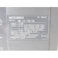 MITSUBISHI MR-J3-70B-EB AC SERVO DRIVE
