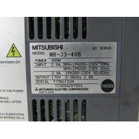 MITSUBISHI MR-J3-40B AC SERVO DRIVE