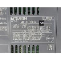 MITSUBISHI MR-J3-60BS SERVO DRIVE