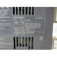 LOT OF 2 MITSUBISHI MR-J3-20B SERVO DRIVE
