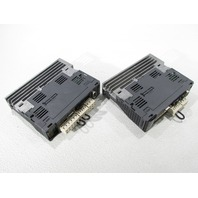 LOT OF 2 MITSUBISHI MR-J3-10B-EB SERVO DRIVE