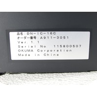 * OKUMA A911-3051 DN-IC-16C MODULE
